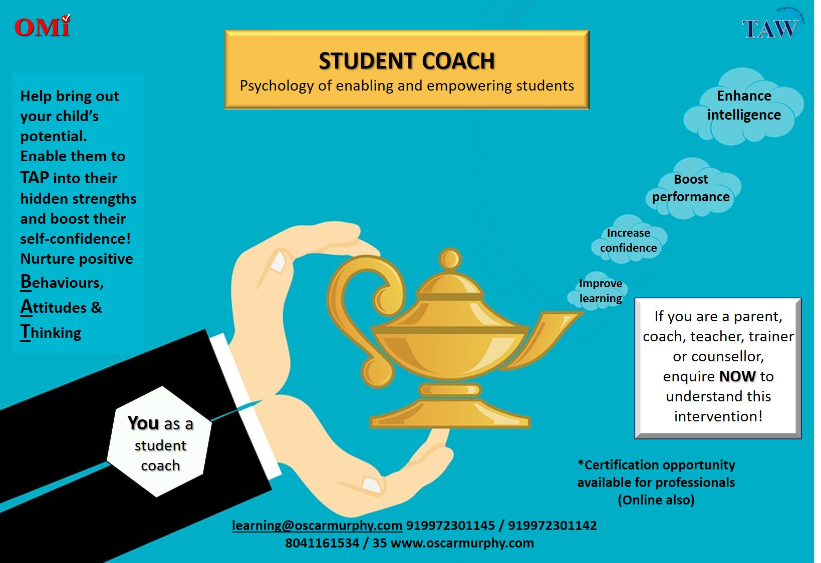 Student Coach website image