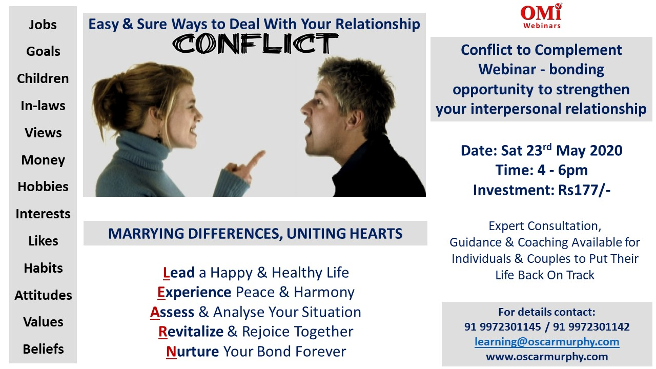 Relationship Conflict Flyer 2